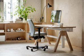 HAG Creed 6004 bureaustoel thuiswerkplek